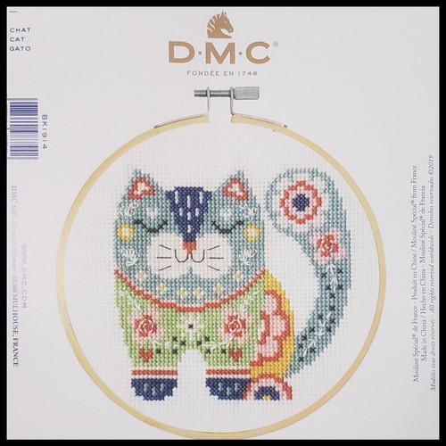 Cat Cross Stitch Kit -DMC