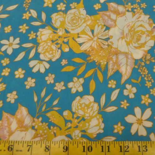 Floral Universe Rayon by AGF - Sold by the 1/4 meter