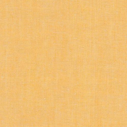 Essex Yarn-Dyed Linen fabric-Ochre
