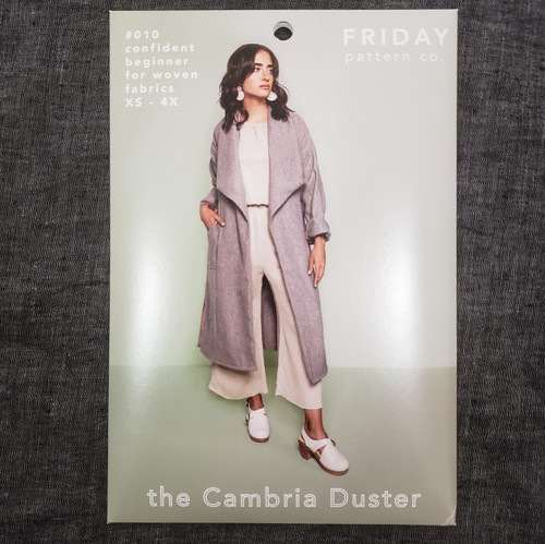 The Cambria Duster xs- 4x - Friday Pattern Company