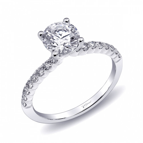 Engagement Ring Setting (0.27ctw) with matching Wedding Band