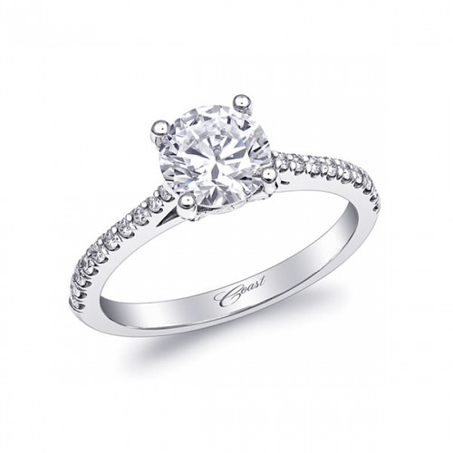 Fishtail Engagement Ring Setting (0.25ctw)