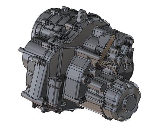 YXZ1000R Standard Transmission