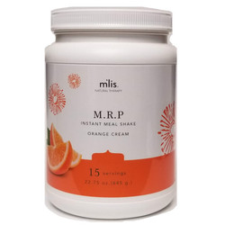 M'lis MRP Instant Meal Orange Cream  - 180 Calories, Gluten, Hormone, Lactose, Sugar Free 15 Servings 22.75 oz