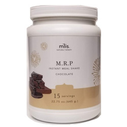 M'lis Instant Meal Organic Chocolate Cream 180 Calories Gluten, Hormone, Lactose, Sugar Free 15 Servings 22.75 ounce