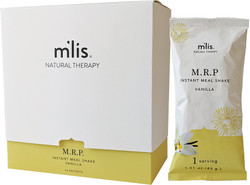 M'lis M.R.P. Instant Meal Single Serving Packets Vanilla 14 Packs per box