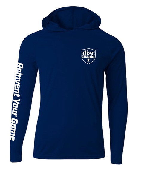 Discmania Cooling Performance Long Sleeved Hooded T-Shirt