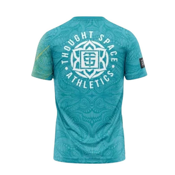 Thought Space Athletics Jersey - Digi Tribal Teal