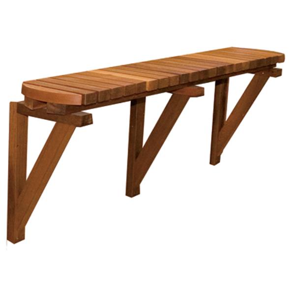 "72"" Cedar Solo Bar (8' spas)-PICK UP ONLY"