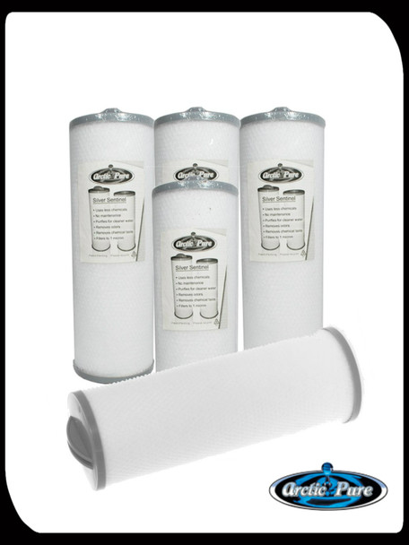 Bag of Filters / Buy 4, get 1 Free ( Threaded Sentinel Filter)