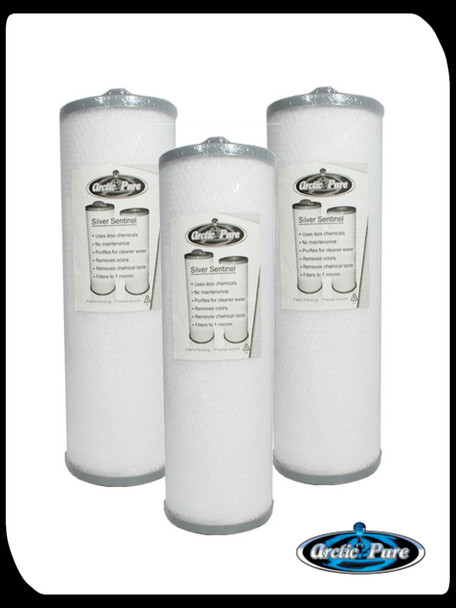 Special - 3 x Silver Sentinel Threaded Filter