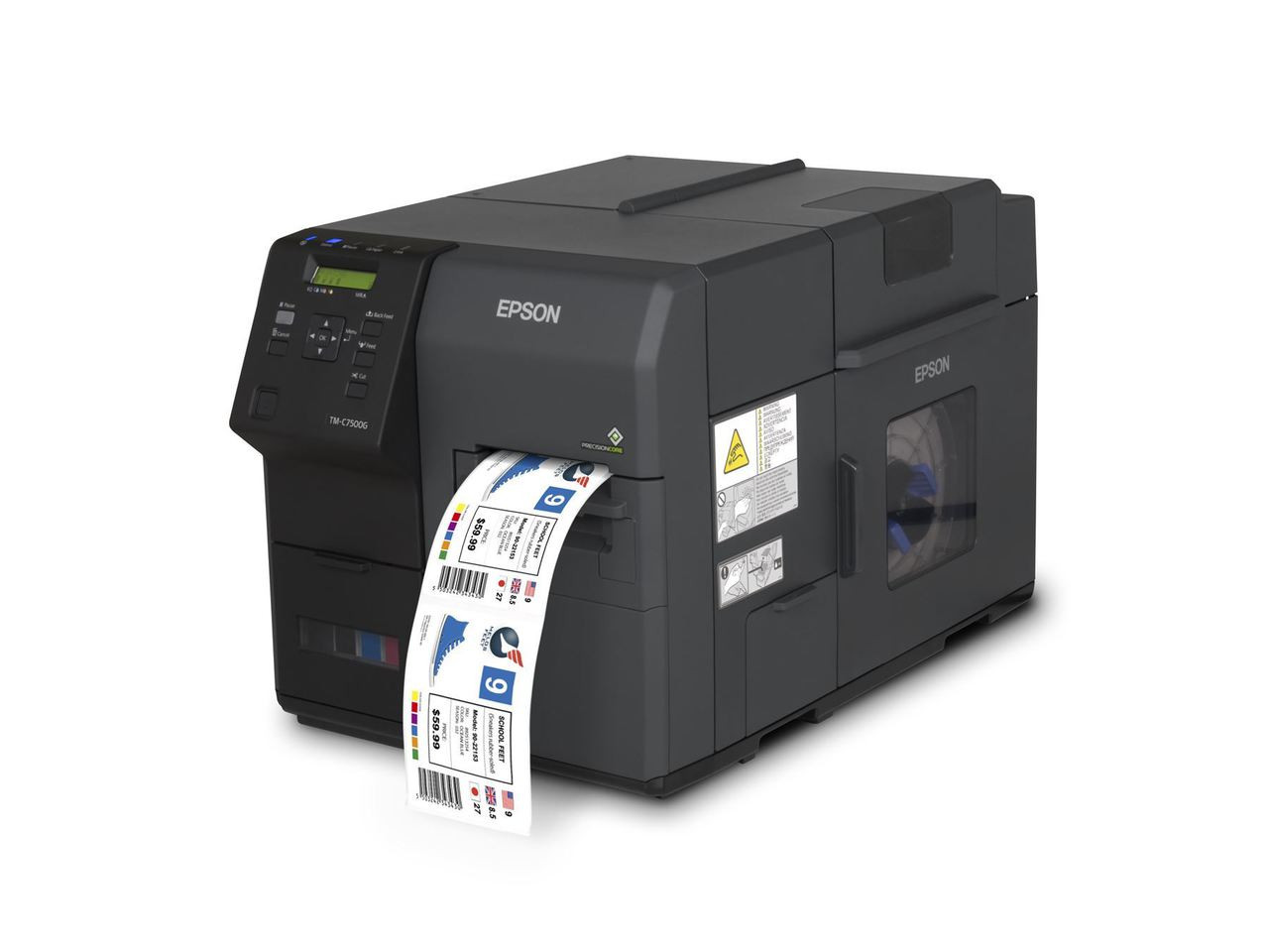 Epson TM-C7500GE Label Printer with Wasatch SoftRIP Software