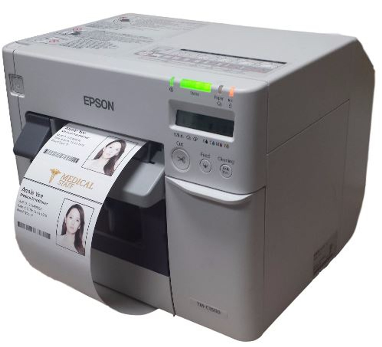 Epson TM-C3500 Color Name Badge Printer | Badge Maker