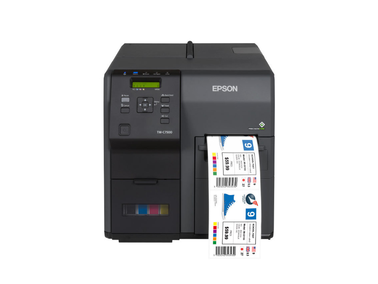 Epson TM-C7500G Gloss Color Label Printer with $,1000 free