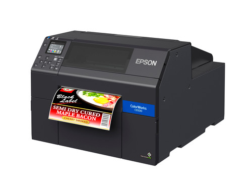 Epson CW-C6500A 8 inch color label printer - Autocutter