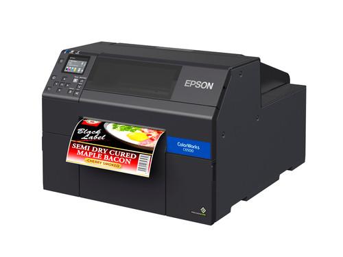 Epson CW-C6500A 8 inch color label printer - Autocutter