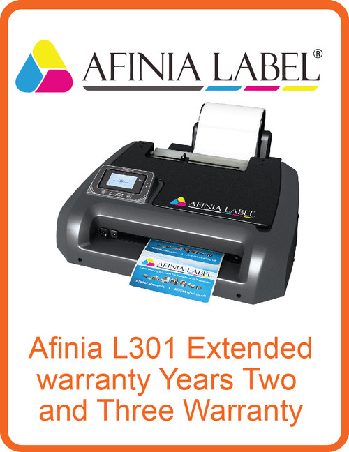 Afinia L301 Extended Warranty Years Two and Three Warranty (AL-32519)