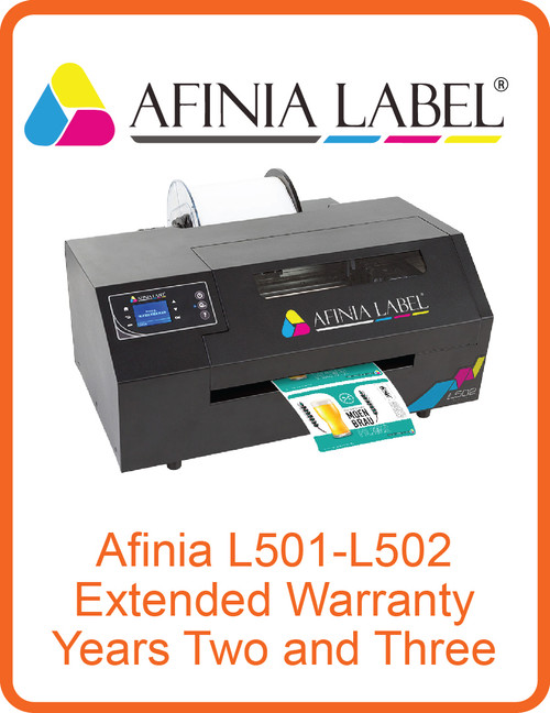 Afinia L501 - L502 Extended Warranty Years Two and Three (AL-32540)