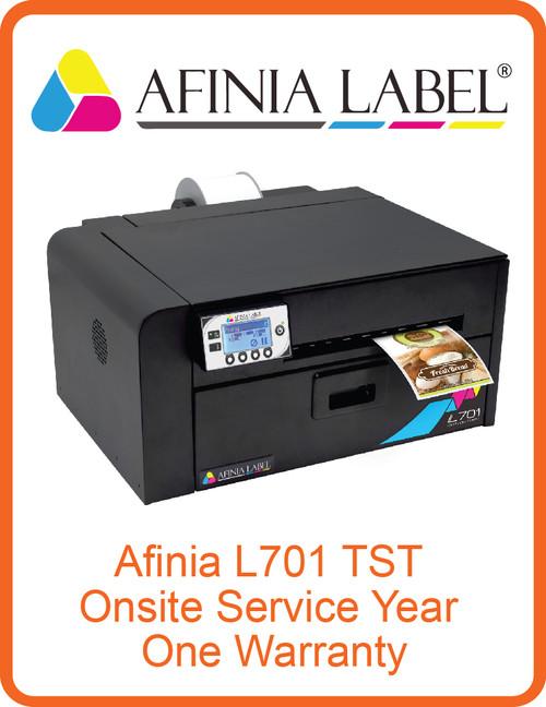 Afinia L701 TST Onsite Service Year One Warranty (AL-32645)