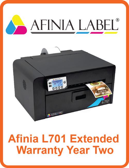 Afinia L701 Extended Warranty Year Two (AL-32554)