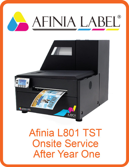 Afinia L801 TST Onsite Service After Year One (AL-32624)