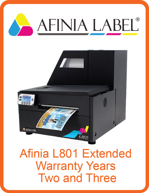 Afinia L801 Extended Warranty Years Two and Three (AL-32582)