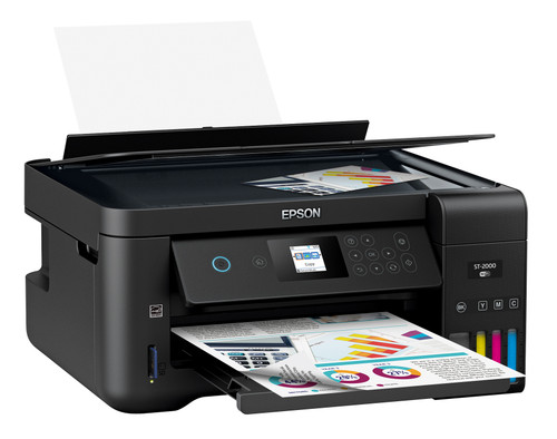 Epson WorkForce ST-2000 Color MFP Supertank Printer C11CG22202 (No Fax)
