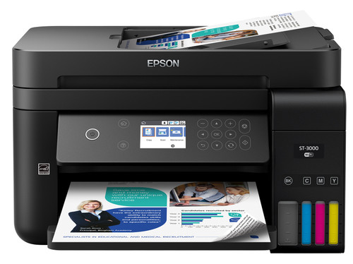 Epson WorkForce ST-3000 Color MFP Supertank Printer C11CG20202