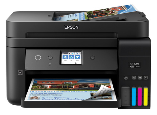 Epson WorkForce ST-4000 Color MFP Supertank Printer C11CG19202