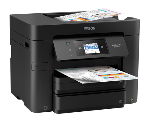 Epson WorkForce Pro EC-4030 Color Multifunction Printer -Up to 500 Sheets (C11CG01205)