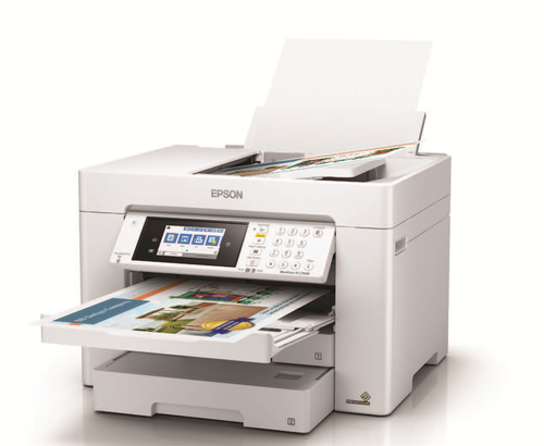 Epson WorkForce EC-C7000 Color Multifunction Printer Up to 13 x 19 Inches (C11CH67202)
