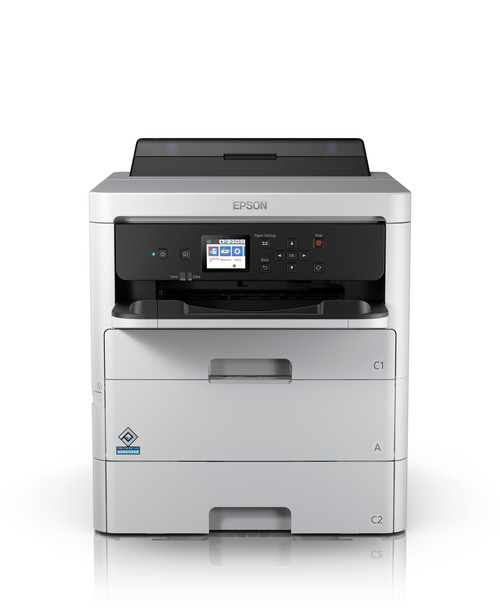 Epson WorkForce Pro WF-C529R Workgroup Color Printer with Replaceable Ink Pack System (C11CG79201BU)