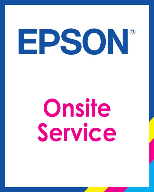Epson TM-C7500/C7500G One Year Onsite Warranty (Available Years 1-5)