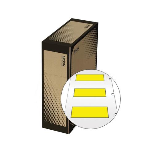 Epson/K-Sun Z-Series BULK-LD HST AWG 14-22 X 25MM BLACK ON YELLOW 500/ROLL