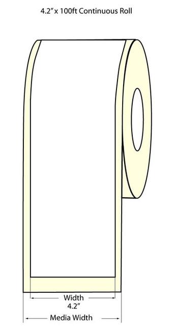 "Epson TM-C3500 4.2"" High Gloss Label Roll 100 Feet | Epson Media 811005"