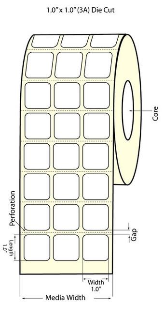 Epson TM-C3500 1x1 High Gloss Label Roll | Epson Media | 811006