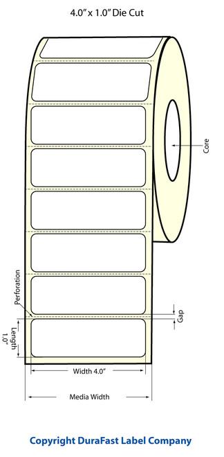 Epson TM-C3500 4x1 Matte Labels | Epson Media | 812017