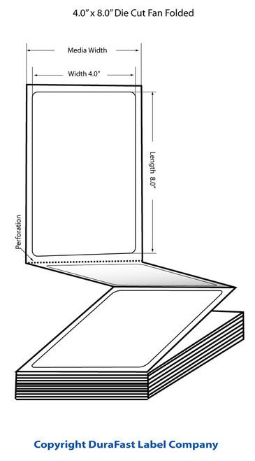 Epson TM-C3500 4x8 FF Matte Labels | Epson Media | 812027