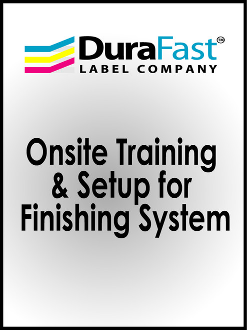 Onsite Training & Setup for Finishing System