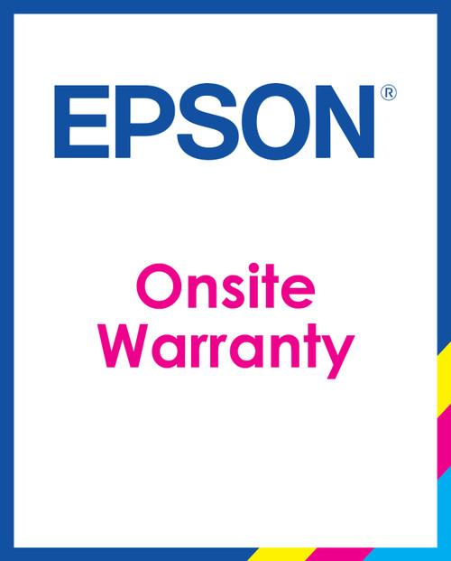 Epson TM-C7500/TM-C7500G One Year Onsite Warranty Upgrade/Year