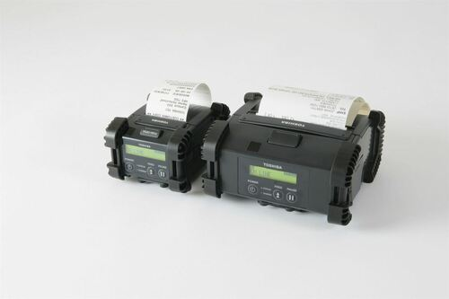 Toshiba B-EP2DL-GH32-QM-R 200 dpi Direct Thermal Barcode Printer
