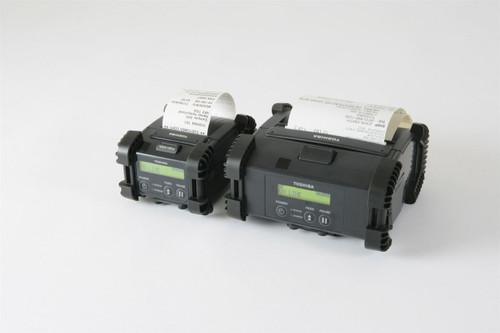 Toshiba B-EP2DL-GH20-QM-R 200 dpi Direct Thermal Barcode Printer