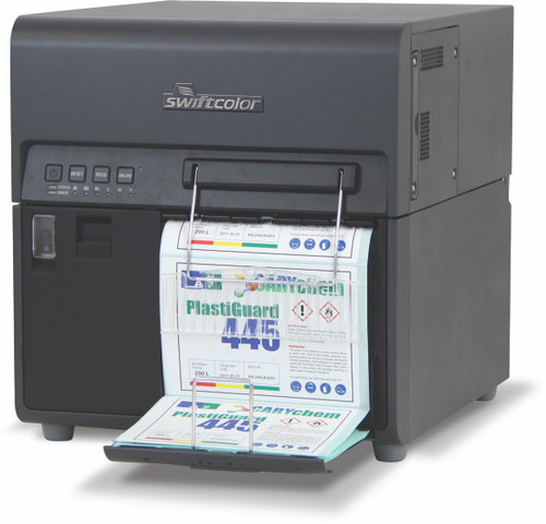 "SwiftColor 8"" Pigment Inkjet Color Label Printer 