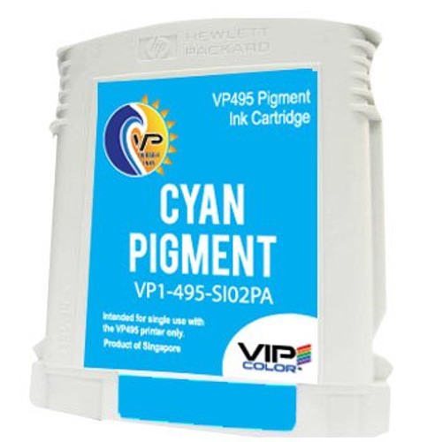 VIPColor VP495 cyan ink cartridge