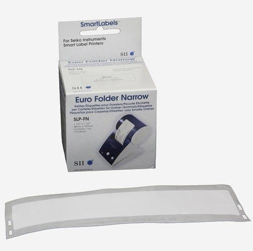 Seiko SLP620/650 1.5 x 7.5 White Multipurpose Labels SLP-FN