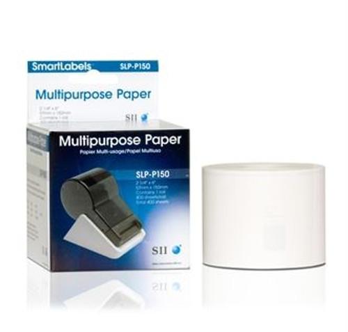 Seiko SLP620/650 2.25 x 6 White Multipurpose Labels SLP-P150