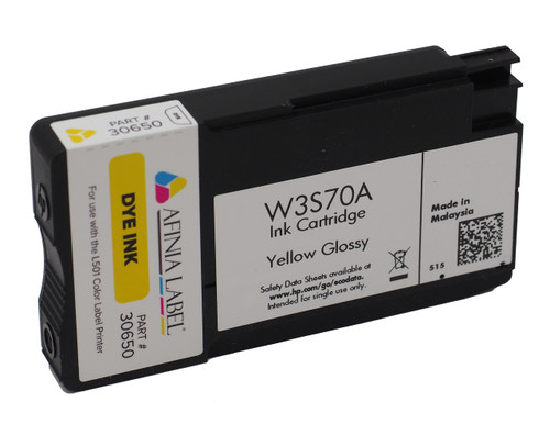 Afinia L501 Yellow Dye Ink Cartridge