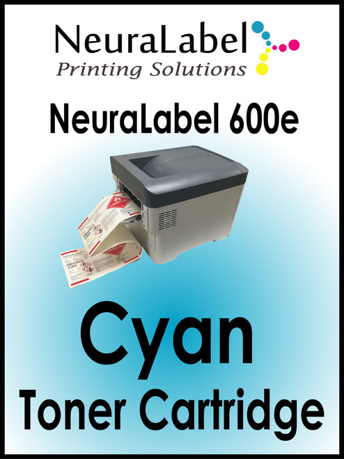 NeuraLabel 600e Cyan Toner Cartridge