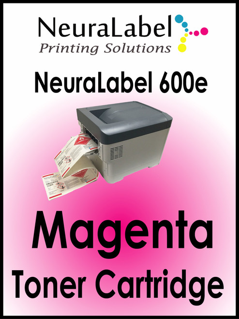 NeuraLabel 600e Magenta Toner Cartridge