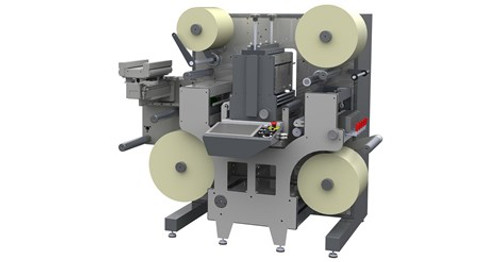 DC330 Nano Semi Rotary Label Finishing System for SurePress